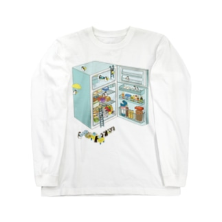 penguin refrigerator ロングスリーブTシャツ