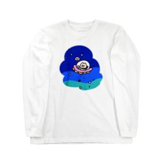 ふらふら宇宙 ロングスリーブTシャツ