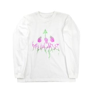 Mukade logo ロングスリーブTシャツ