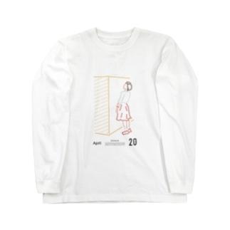 【2018.04.20】新井リオの英語日記グッズ ロングスリーブTシャツ