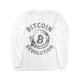 BITCOIN REVOLUTION ロングスリーブTシャツ