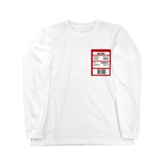 m ロングスリーブTシャツ