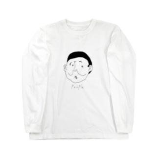 People#17 ロングスリーブTシャツ