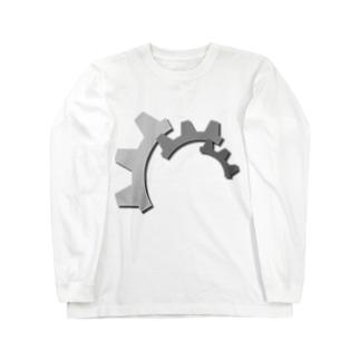 歯車 ロングスリーブTシャツ