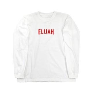 ELIJAH LOGO. ロングスリーブTシャツ