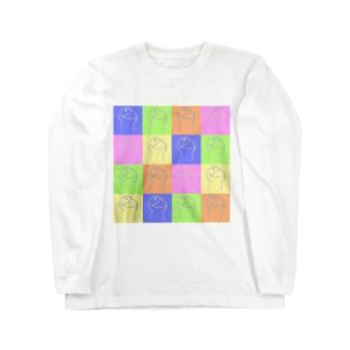 あたまのわるいひと(からふる) ロングスリーブTシャツ
