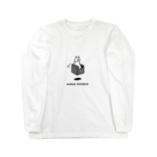 近未来に生きる ロングスリーブTシャツ