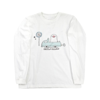 旅する文鳥 ロングスリーブTシャツ