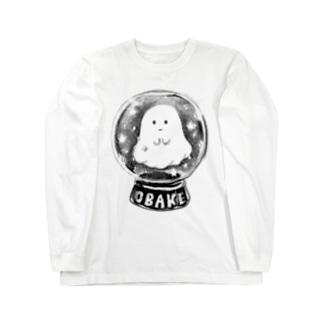 オバケちゃんのスノードーム ロングスリーブTシャツ