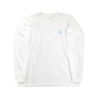 SIROPANDAワンポイント(Blue) ロングスリーブTシャツ