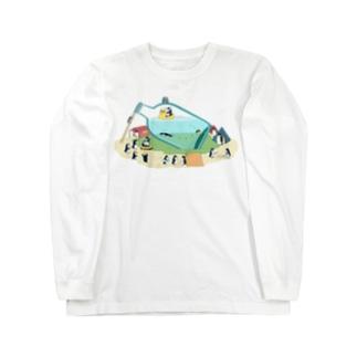 ペンギンボトル18 ロングスリーブTシャツ