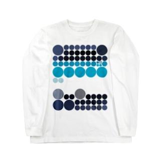 水玉シリーズ40 ロングスリーブTシャツ