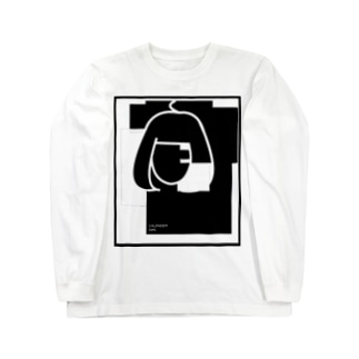 CALENDER GIRL(NO CALENDER) ロングスリーブTシャツ