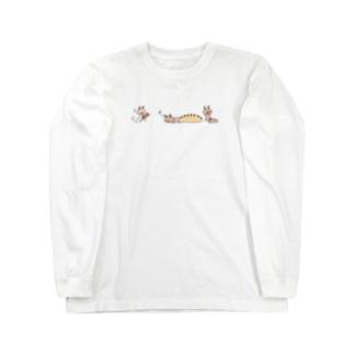 シロアリさん 01 ロングスリーブTシャツ