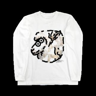 flounder2のヒツジ ロングスリーブTシャツ