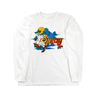 SPRAY ロングスリーブTシャツ