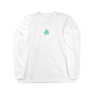 おほしちゃん(緑) ロングスリーブTシャツ