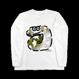 flounder2のミ ロングスリーブTシャツ