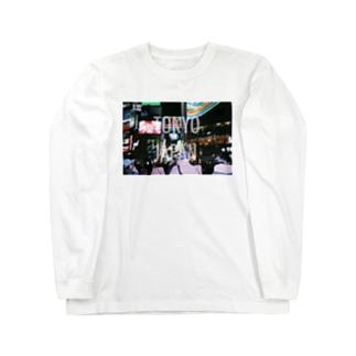 TOKYO JAPAN wht ロングスリーブTシャツ
