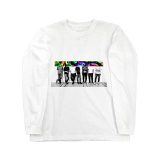 dyebirth_009 ロングスリーブTシャツ