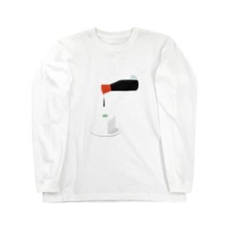 豆腐(しょうゆ付き) ロングスリーブTシャツ