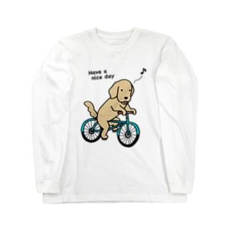 bicycle 2 ロングスリーブTシャツ