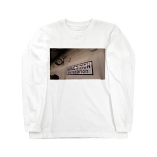 ギリシャの駅 ロングスリーブTシャツ