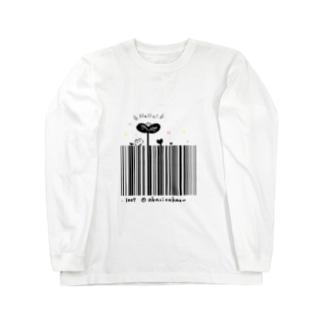 Hello!バーコード ロングスリーブTシャツ
