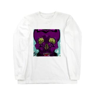 skullie ロングスリーブTシャツ