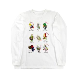 ROBOBO 鳥図 ロングスリーブTシャツ