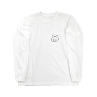 あくびうさぎ ロングスリーブTシャツ