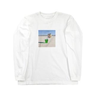 まるがお02 ロングスリーブTシャツ