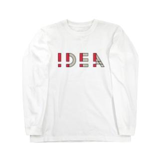 !DEA(アイデア) ロングスリーブTシャツ