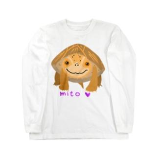 ミシシッピーニオイガメ‼ ロングスリーブTシャツ