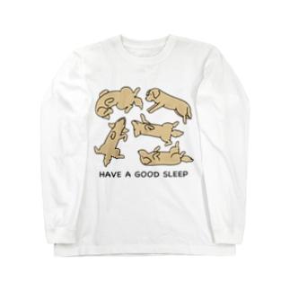 寝相 2 ロングスリーブTシャツ