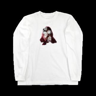 s_____516のスカーフ系女子 ロングスリーブTシャツ