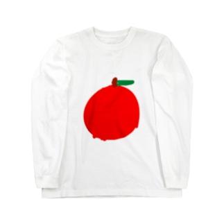 りんご(次男) ロングスリーブTシャツ