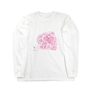 アネモネ少女 ロングスリーブTシャツ