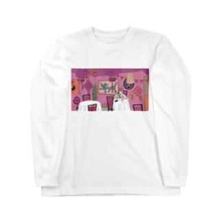 チャイニーズレストラン ロングスリーブTシャツ