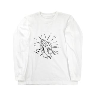 祈り ロングスリーブTシャツ