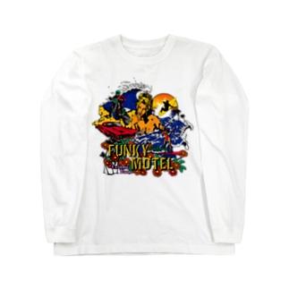 FUNKY MOTEL ロングスリーブTシャツ