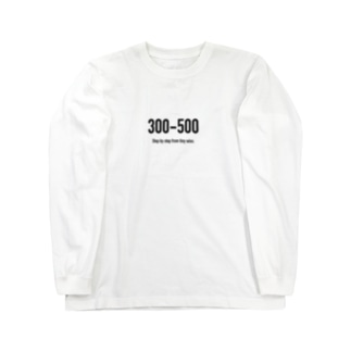 POINTS - 300-500 ロングスリーブTシャツ