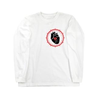 クロスハート ロングスリーブTシャツ
