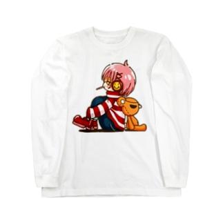 「ニコバツ」まったり ロングスリーブTシャツ