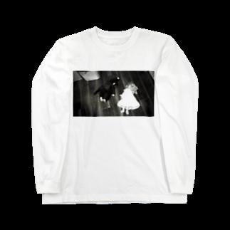 マグダラのヒカル@堕天使垢のサスペンス ロングスリーブTシャツ