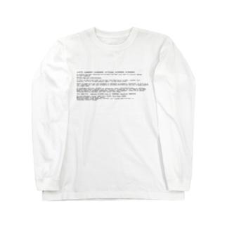 BSOD(Blue Screen of Death) ロングスリーブTシャツ