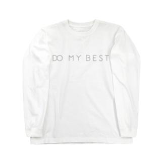 DO MY BEST ロングスリーブTシャツ