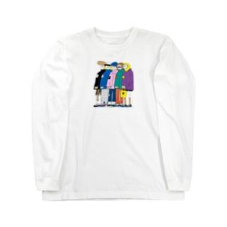 people ロングスリーブTシャツ