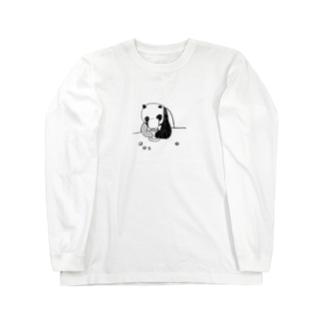 パンダさん ロングスリーブTシャツ