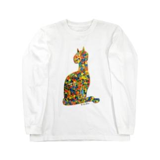 サビ猫 ロングスリーブTシャツ